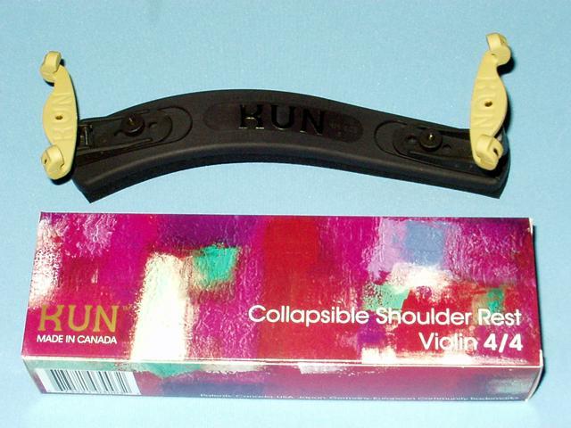脚部折り畳みタイプ KUN Collapsible 日本正規代理店品 爆買い送料無料 コラプシブル バイオリン肩当て 4