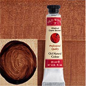 Natural Oil ColoursWalnut- Dark Brown