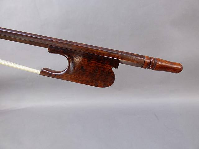 バロック チェロ弓 #03 Snakewood Snail Model