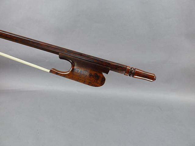 バロック チェロ弓Snakewood Snail Model # 04