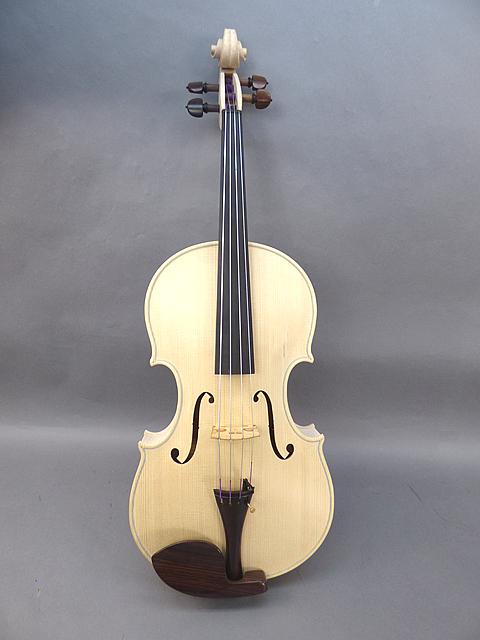 Luthier Series White Viola 17インチ Guaruneri Model