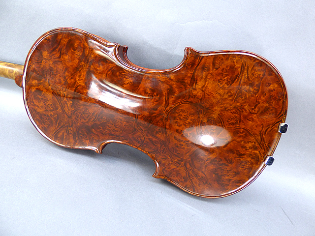 "Luthier Series Bird's eye Viola  16"" #05 Hill16インチ バーズアイ ヴィオラ"