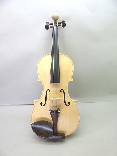 ホワイト バイオリン Rosewood Fittings