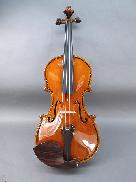 インレイ装飾バイオリンOrnamental Violin 08