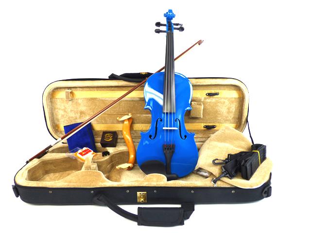 カラーバイオリン Premium Set Blue
