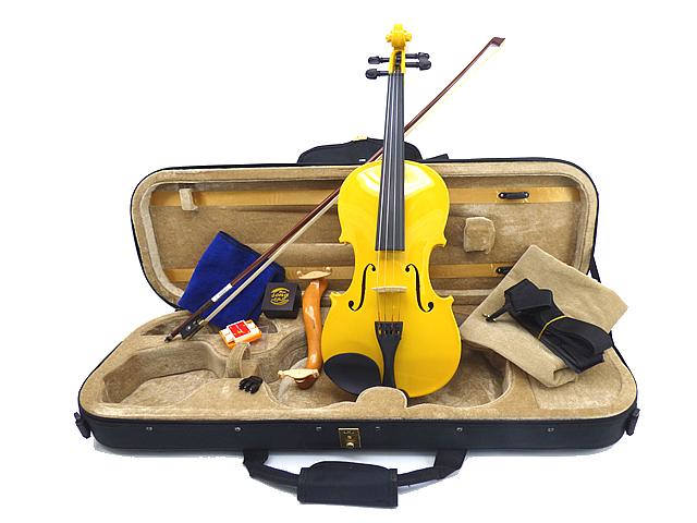カラーバイオリン Premium Set Yellow