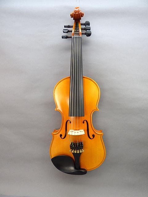 6弦 バイオリン #05上質材使用・エボニーモデル