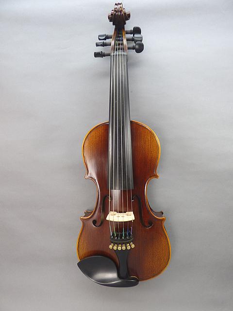 6弦 バイオリン #04上質材使用・エボニーモデル