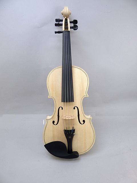 特価 5弦 ホワイトバイオリン
