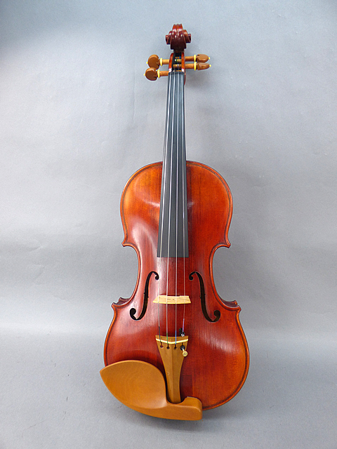 Luthier Strad ViolinBoxwood White Fret