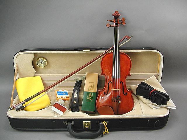DLX バイオリン 1/8 ボックスウッド