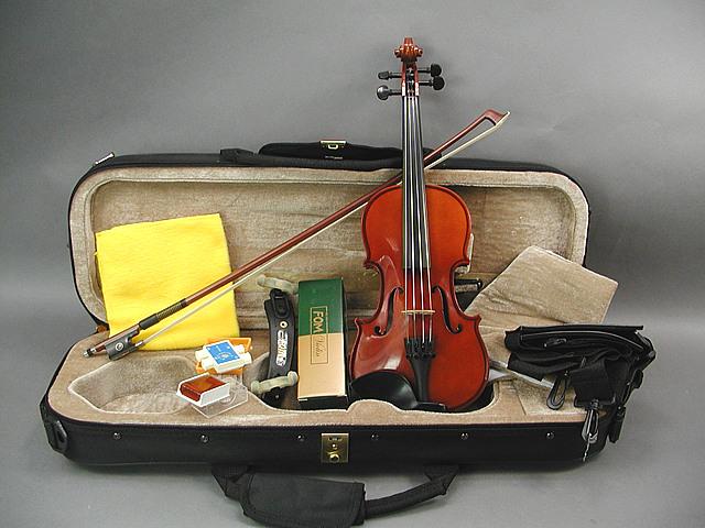 DLX バイオリンセット  1/8オールエボニー