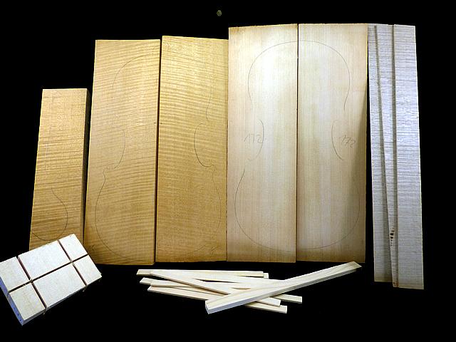 Tonewood viola Complete kit