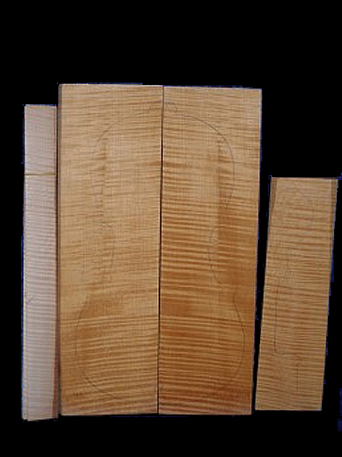 Tonewood viola Maple set