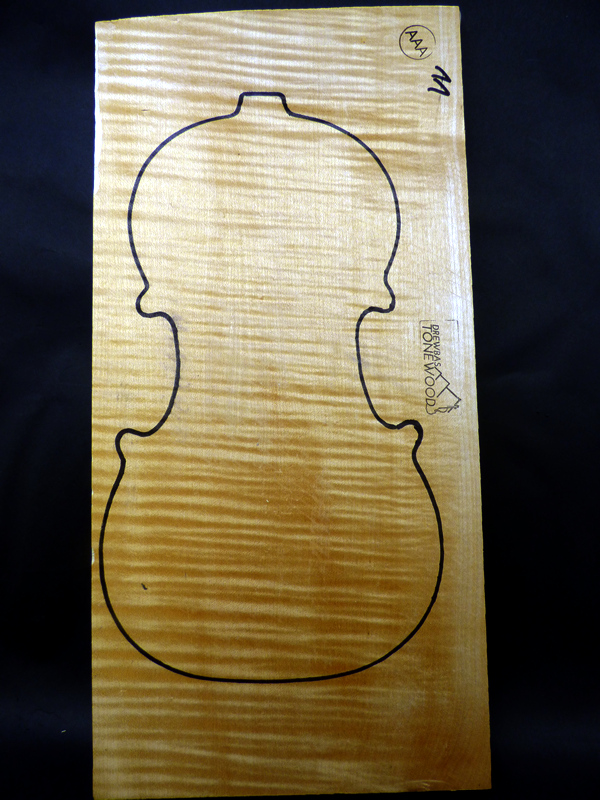 set Tonewood violin AAA #11 Maple