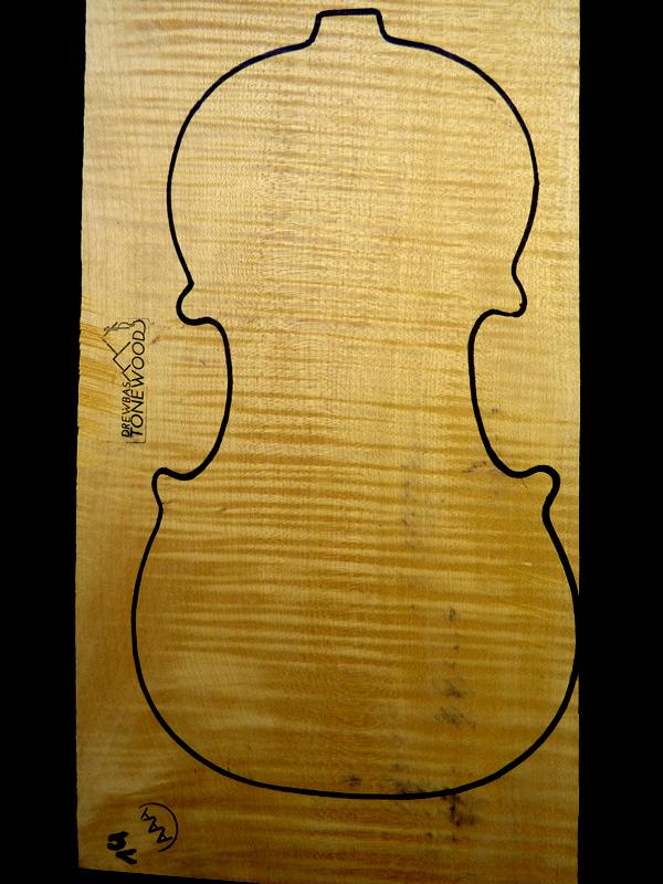 Tonewood violin Maple set AAA #18