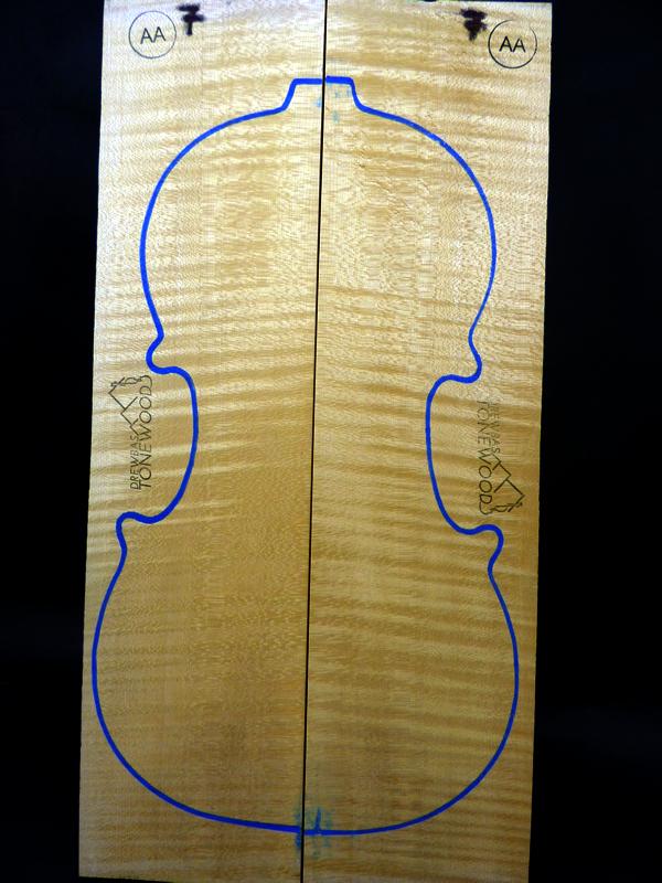 Tonewood violin Maple set AA #6