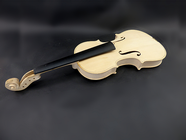 Unfinidhed White Violin 4/4