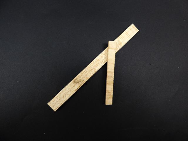 Wedge 手数料無料 wood stick Violin Viola テレビで話題