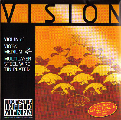 2020 激安特価品 バイオリン弦 VISION-E線 1 16-1 2
