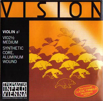 バイオリン弦 VISION-A線 早割クーポン 4 新着セール