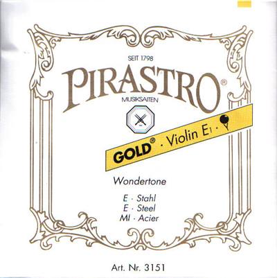 バイオリン弦 ピラストロ ゴールド set