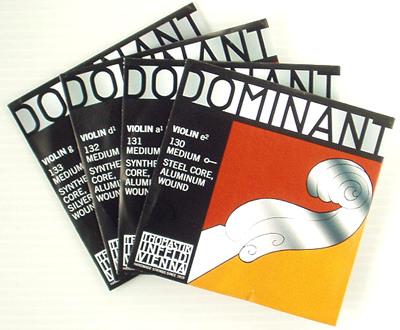 バイオリン弦 ドミナント セット E線130 アルミ巻き お金を節約 仕様 E130-set 贈り物 Violin DOMINANT