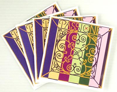 バイオリン弦 PIRASTRO PASSIONE SOLO set