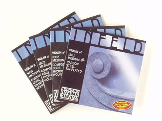 無料サンプルOK 送料無料 INFELD Blue set インフェルド バイオリン弦セット 青