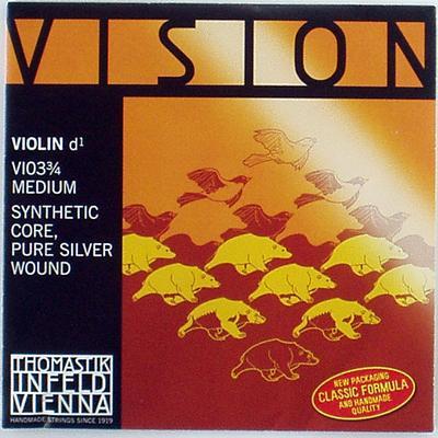 バイオリン弦 VISION-D線 3 驚きの値段で 4 新商品 新型