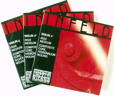 バイオリン弦 本物◆ インフェルド 超激得SALE 赤ADG3本セット INFELD Red ADGset