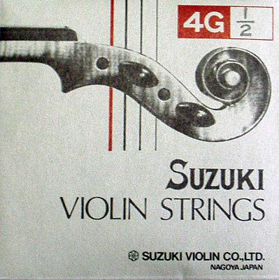 バイオリン弦 送料無料激安祭 鈴木バイオリン 各サイズあり 商品 4G弦