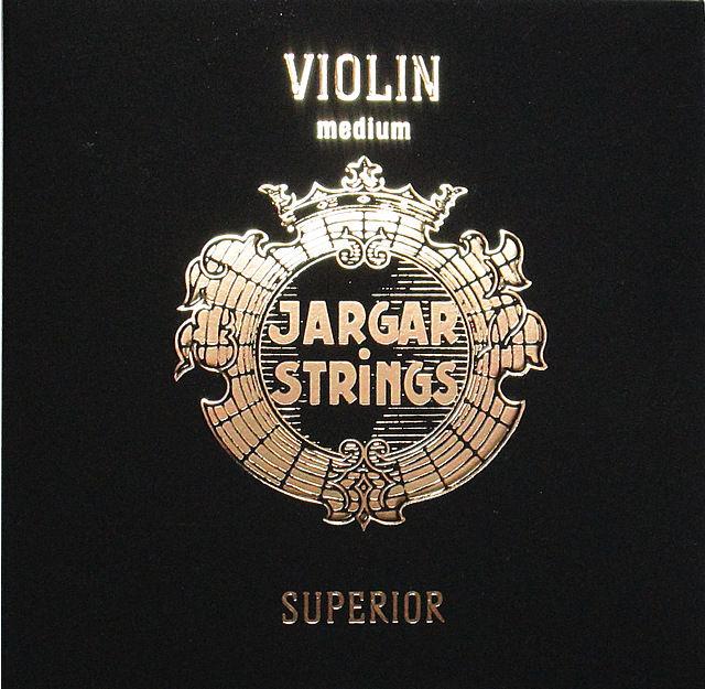 バイオリン弦セット ヤーガー スペリオール JARGAR STRINGS SUPERIOR Violin
