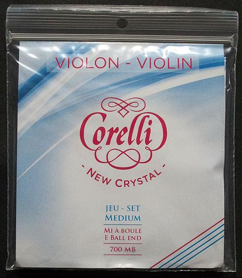 バイオリン弦 サバレス コレルリ ニュークリスタル New 激安通販 Corelli SAVAREZ Crystal 予約販売