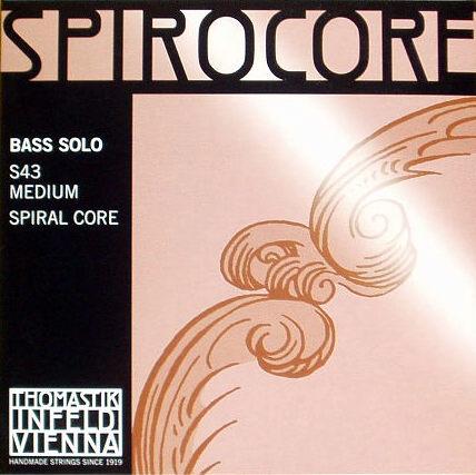 コントラバス弦SPIROCORE SOLO スピロコア ソロチューニング