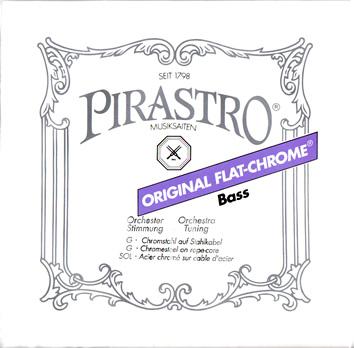 コントラバス弦・オリジナルフラットクローム・バラ売り G1線3471