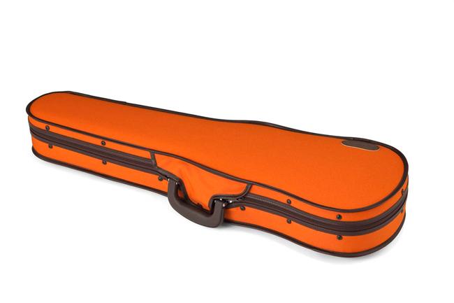 東洋楽器バイオリンケース ULシェルR(4/4) ダークピンク・オレンジ