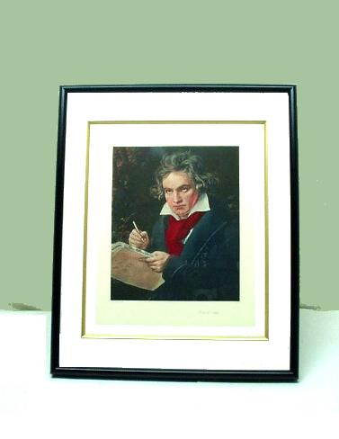 銅版画 ベートーベン