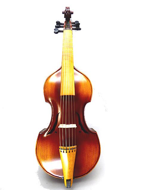 トーンウッド Treble Viola da gamba 6strings 15 1/4