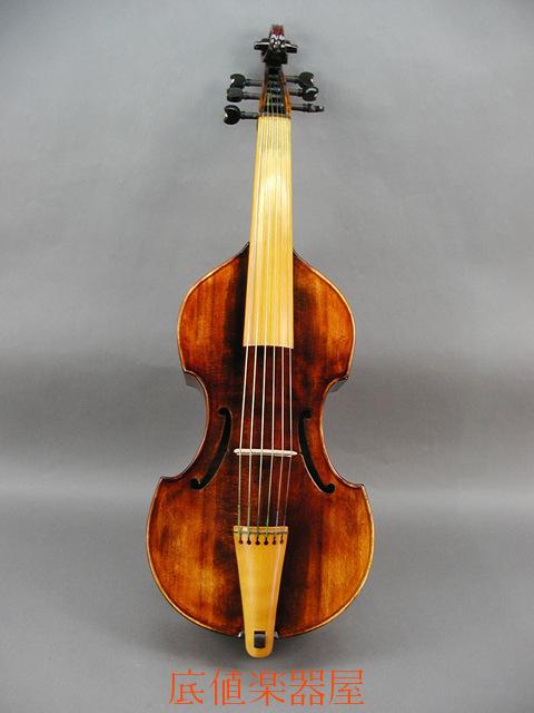 6弦 15 3/8inch Viola da gamba
