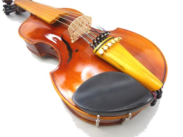 ヴィオラ・ダモーレ Viola d'amore #13バロックスタイル 15 1/2 インチ 7X7弦