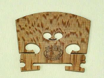 バイオリン駒 Aubert 中古 DE LUXE 4 No.8L-4 送料無料カード決済可能 仏