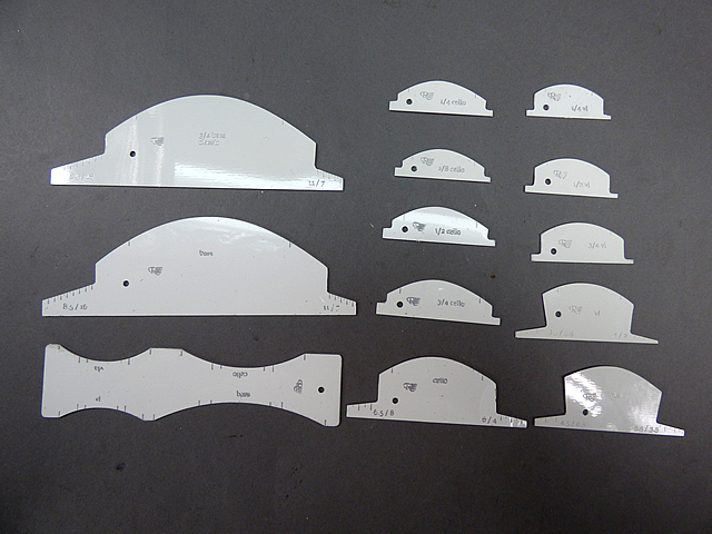 Strobel Bridge Template Set