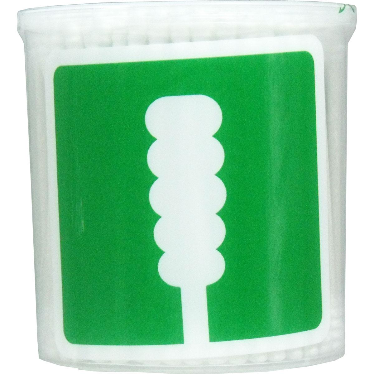 UD綿棒 スパイラル綿棒 凸凹型 紙軸 抗菌加工 200本入