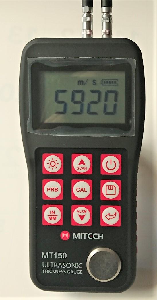 今なら5段階段テストブロックが無料で付いてきます。超音波厚さ計MT-150+5段階段テストブロック送料無料】
