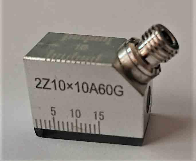 標準サイズの斜角探触子 在庫一掃売り切りセール コネクターはG お得クーポン発行中 超音波斜角探触子2Z10X10A60G