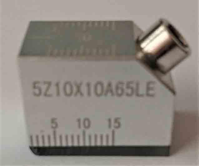 商店 国内正規総代理店アイテム 標準サイズの斜角探触子コネクターはLEMO00-レモ小 超音波斜角探触子5Z10X10A65LE