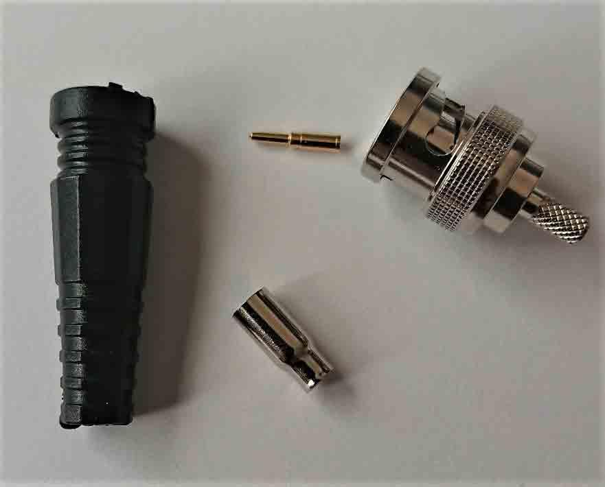 超特価SALE開催 超音波探傷BNCタイプケーブル等の修理用 BNCコネクターキット 組み立て図付き 選択