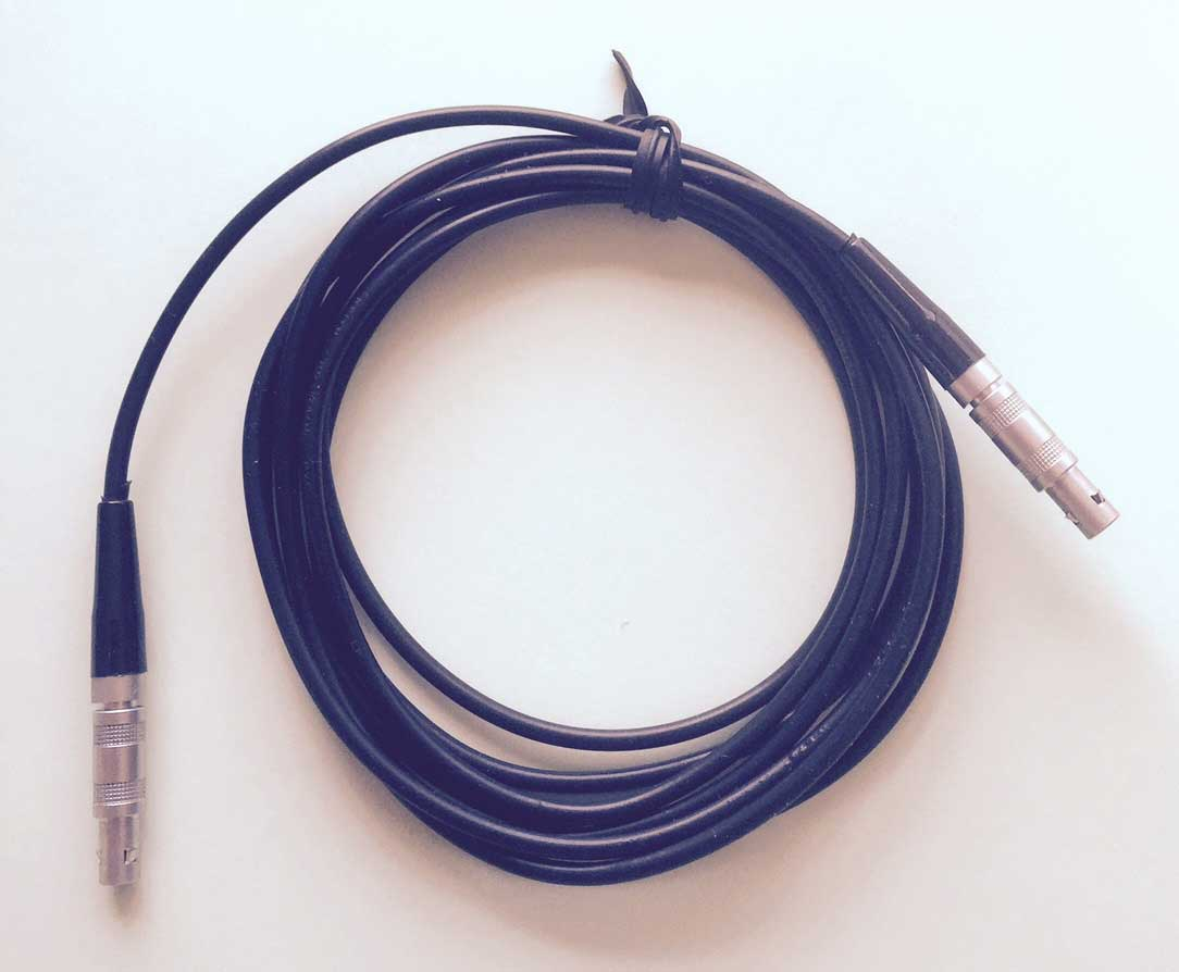 ミニ探傷器に最適、探傷ケーブルLEMO00-LEMO00(レモ小-レモ小)ケーブル、お得な10本組