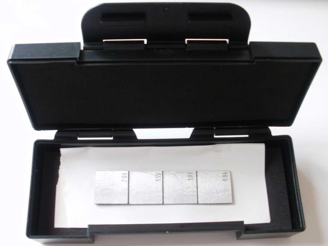 SUS316製厚さ測定用4段試験片